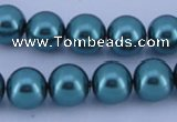 CGL249 5PCS 16 inches 18mm round dyed plastic pearl beads wholesale