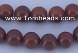 CGL886 10PCS 16 inches 8mm round heated glass pearl beads wholesale