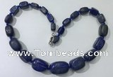 CGN131 22 inches 10*14mm - 20*30mm nuggets lapis lazuli necklaces