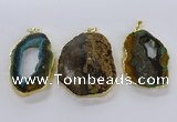 CGP3012 35*45mm - 40*50mm freeform opal gemstone pendants