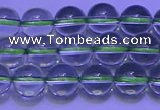 CGQ301 15.5 inches 6mm round AA grade natural green quartz beads
