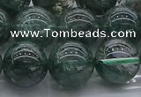 CGQ505 15.5 inches 14mm round imitation green phantom quartz beads
