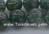 CGQ506 15.5 inches 16mm round imitation green phantom quartz beads
