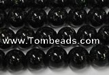 CGS400 15.5 inches 4mm round green goldstone beads wholesale