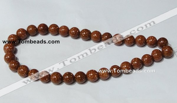 CGS52 15.5 inches 12mm round goldstone beads wholesale