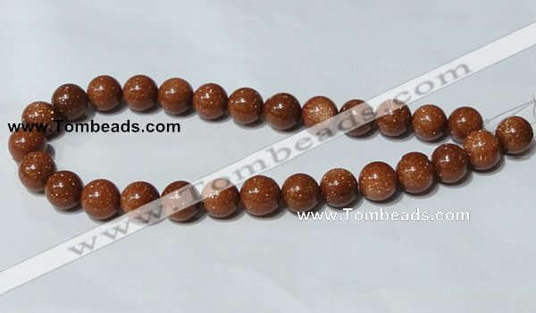 CGS53 15.5 inches 14mm round goldstone beads wholesale