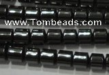 CHE114 15.5 inches 3*3mm tyre hematite beads wholesale