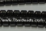 CHE116 15.5 inches 5*5mm tyre hematite beads wholesale