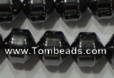 CHE131 15.5 inches 8*8mm hematite beads wholesale