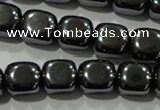 CHE250 15.5 inches 13*13mm cube hematite beads wholesale