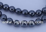 CHE31 16 inches 3mm faceted round hematite beads Wholesale