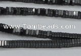 CHE410 15.5 inches 1*2*2mm square matte hematite beads wholesale