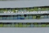 CHE602 15.5 inches 3*3mm cube plated hematite beads wholesale