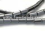 CHE64 15.5 inches 8*16mm column shape hematite beads Wholesale