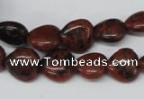 CHG36 15.5 inches 12*12mm heart mahogany obsidian beads wholesale