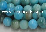 CHM02 16 inches 12mm round blue hemimorphite beads wholesale