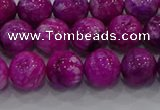 CHM231 15.5 inches 10mm round dyed hemimorphite beads wholesale