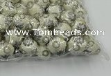 CIB500 22mm round fashion Indonesia jewelry beads wholesale