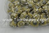 CIB501 22mm round fashion Indonesia jewelry beads wholesale