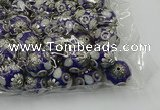 CIB507 22mm round fashion Indonesia jewelry beads wholesale