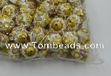 CIB525 22mm round fashion Indonesia jewelry beads wholesale