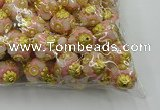 CIB532 22mm round fashion Indonesia jewelry beads wholesale
