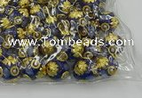 CIB536 22mm round fashion Indonesia jewelry beads wholesale