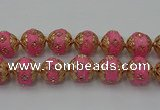 CIB548 22mm round fashion Indonesia jewelry beads wholesale