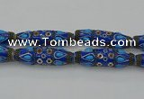 CIB570 16*60mm rice fashion Indonesia jewelry beads wholesale