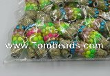 CIB581 16*60mm rice fashion Indonesia jewelry beads wholesale