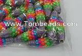 CIB583 16*60mm rice fashion Indonesia jewelry beads wholesale