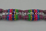 CIB584 16*60mm rice fashion Indonesia jewelry beads wholesale