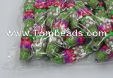 CIB590 16*60mm rice fashion Indonesia jewelry beads wholesale