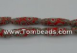 CIB648 16*60mm rice fashion Indonesia jewelry beads wholesale