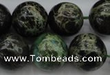 CIJ110 15.5 inches 12mm round dyed impression jasper beads wholesale