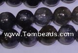 CIL02 15.5 inches 7mm round natural iolite gemstone beads