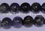 CIL03 15.5 inches 8mm round natural iolite gemstone beads