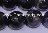 CIL06 15.5 inches 12mm round natural iolite gemstone beads
