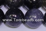 CIL28 15.5 inches 13mm round AA grade natural iolite gemstone beads