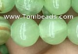 CJB311 15.5 inches 10mm round dyed green jade gemstone beads