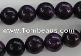 CJJ05 15.5 inches 12mm round dyed lucky jade beads wholesale