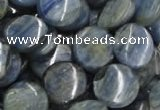CKC03 16 inches 30mm flat round natural kyanite beads wholesale