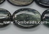 CKC210 15.5 inches 22*30mm oval natural kyanite beads wholesale