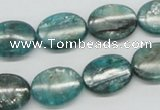 CKC24 16 inches 12*16mm oval natural kyanite beads wholesale