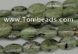 CKC270 15.5 inches 8*12mm oval natural green kyanite beads