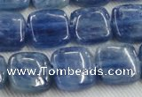 CKC523 15.5 inches 12mm square natural Brazilian kyanite beads