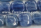 CKC524 15.5 inches 14mm square natural Brazilian kyanite beads