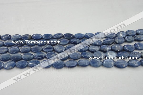 CKC531 15.5 inches 6*8mm oval natural Brazilian kyanite beads