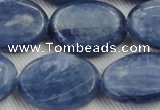 CKC538 15.5 inches 18*25mm oval natural Brazilian kyanite beads