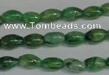 CKC70 15.5 inches 4*6mm rice natural green kyanite beads wholesale
